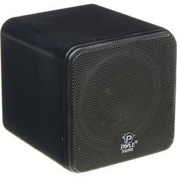 """Pyle Pro PCB4 200W 4"""" Mini Cube Speaker (Pair, Black)"""