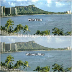 "Tiffen 4 x 4"" UV 17 Filter"