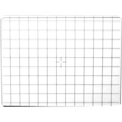 Wista Protective Glass with Grid Lines
