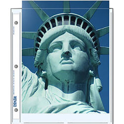 """Print File 811-2P Archival Storage Page for 2 Prints (8.5 x 11"""", 500-Pack)"""