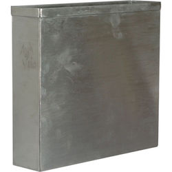 """Arkay 81-14 Stainless Steel Cut Film Developing Tank for 18 - 8x10"""" Sheets"""