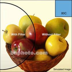 """Tiffen 6 x 6"""" 80C Color Conversion Filter"""