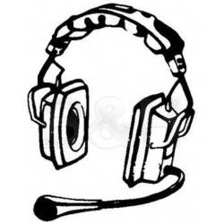Telex PH-3 - Full Cushion Stereo Bianaural Headset