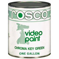 Rosco Chroma Key Paint (Green, 1 Gallon)