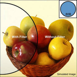 Heliopan 46mm KB 12 (80B) Cooling Color Conversion Glass Filter