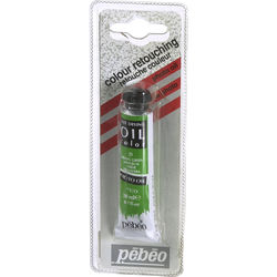 "Pebeo Oil Color Paint: #21 Spring Green - 3/4x4"" Tube (.7 Oz.)"