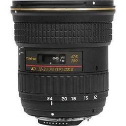 Tokina 12-24mm f/4 AT-X 124 AF Pro DX II Lens