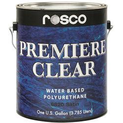 Rosco Premiere Clear Satin Paint (1 Gallon / 3.78 liters)