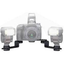 Olympus FL-BKM03 Twin Flash Bracket for the Olympus E-System Digital SLR Cameras
