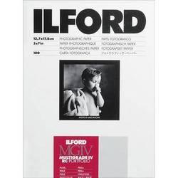 """Ilford Multigrade IV RC Portfolio Paper (Pearl, 5 x 7"""", 100 Sheets)"""