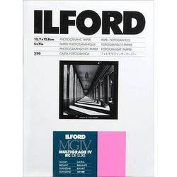 "Ilford Multigrade IV RC Deluxe MGD.1M Black & White Variable Contrast Paper (5 x 7"", Glossy, 250 Sheets)"