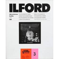 "Ilford ILFOSPEED RC DeLuxe Paper (1M Glossy, Grade 3, 8 x 10"", 100 Sheets)"