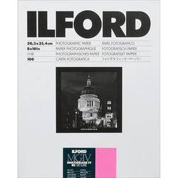 """Ilford Multigrade IV RC Deluxe MGD.1M Black & White Variable Contrast Paper (8 x 10"""", Glossy, 100 Sheets)"""