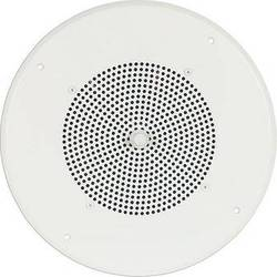 "Bogen Communications Ceiling Speaker Assembly with S86 8"" Cone & Screw Terminal Bridge (Bright White)"