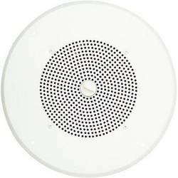 "Bogen Communications Ceiling Speaker Assembly with S86 8"" Cone , Volume Knob & Screw Terminal Bridge (Bright White)"