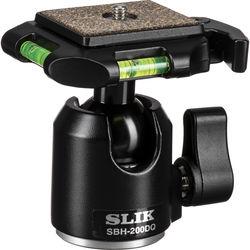Slik SBH-200DQ Ballhead with Quick Release - Supports 8.8 lbs (5kg) - Black