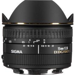 Sigma 15mm f/2.8 EX DG Diagonal Fisheye Lens for Canon EF