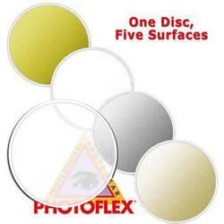 "Photoflex MultiDisc Circular Reflector, 5 Surfaces, 42""  (107cm)"