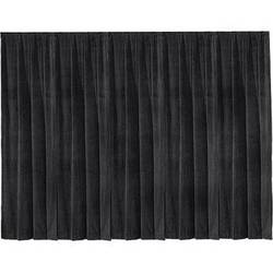 """Draper 12' x 50"""" Drape Panel (Single Panel, Black)"""