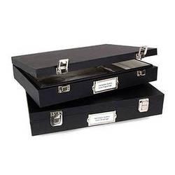 "Archival Methods 12-036 Solander Museum Case (17.5 x 25.25 x 2.5"", Black)"