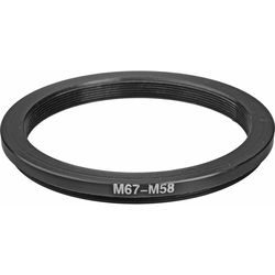 General Brand 67-58mm Step-Down Ring (Lens to Filter)
