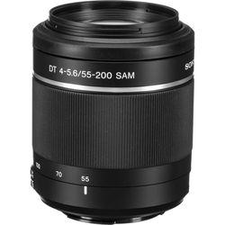 Sony DT 55-200mm f/4-5.6 SAM Lens