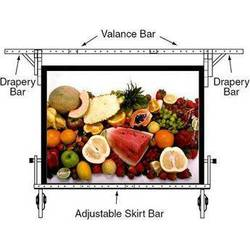 """Draper 242096 Skirt Bar for the 56x96"""" Ultimate Folding Projection Screen"""
