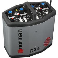 Norman D24R Radio Slave Power Pack - 2400 Watt/Seconds