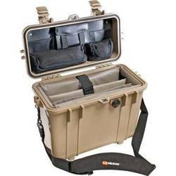 Pelican 1437 Top Loader 1430 Case with Office Divider Set (Desert Tan)