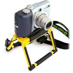 Gary Fong Flip Cage Tabletop Tripod for Compact Cameras (Sunshine Yellow)