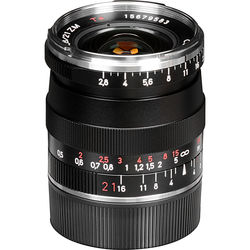 Zeiss 21mm f/2.8 ZM Lens - Black