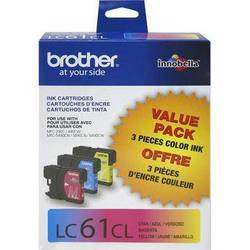Brother LC613PKS Innobella Standard-Yield Cyan/Magenta/Yellow Ink Cartridges