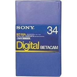 Sony BCT-D34L 34 Minute Large Digital Betacam Cassette