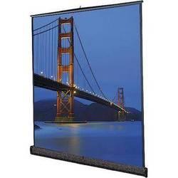 Da-Lite 93894 Floor Model C Portable Manual Front Projection Screen (8x10')