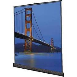 "Da-Lite 98046 Floor Model C Portable Manual Front Projection Screen (87x116"")"