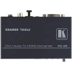 Kramer FC-49 DVI & Audio to HDMI Format Converter & Audio Embedder