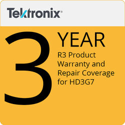 Tektronix R3 Product Warranty and Repair Coverage for HD3G7