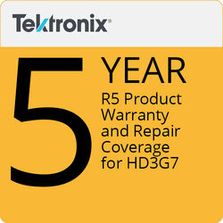 Tektronix R5 Product Warranty and Repair Coverage for HD3G7