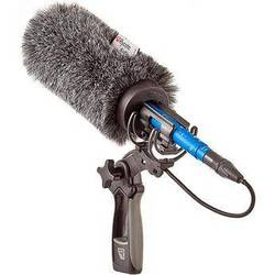 Rycote 18cm Standard Hole Classic-Softie with Lyre Mount & Pistol-Grip Kit