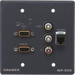 Kramer WP-209 Active Wall Plate (Gray)
