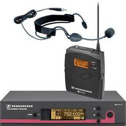 Sennheiser EW152 G3 Wireless Bodypack Microphone System with ME3 Headset Mic (A: 516 - 558MHz)