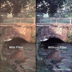 "Tiffen 6 x 6"" Warm Pro-Mist 2 Filter"