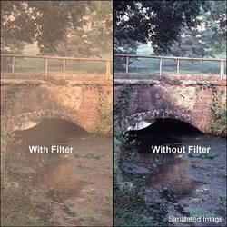 "Tiffen 6 x 6"" Warm Pro-Mist 4 Filter"