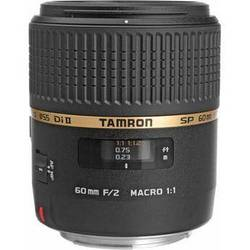 Tamron SP 60mm f/2 Di II 1:1 Macro Lens for Canon EF
