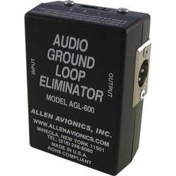 Allen Avionics AGL-600 Audio Ground Loop Isolation Transformer