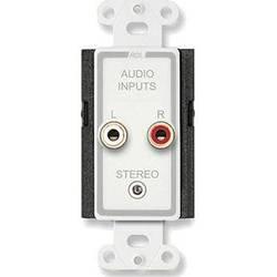 RDL D-CIJ3D Consumer Input Jacks (Stereo) (White/Gray)