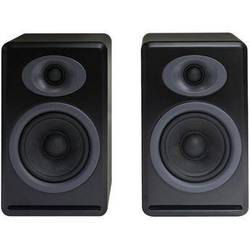 Audioengine P4 2-Way Passive Bookshelf Speakers (Black, Pair)