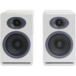 Audioengine P4 2-Way Passive Bookshelf Speakers (White, Pair)