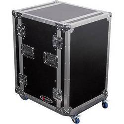 Odyssey Innovative Designs FZSRPAR16W Flight Zone Space Saver Amp Rack Case