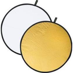 "Creative Light 38"" White/Gold Reflector"